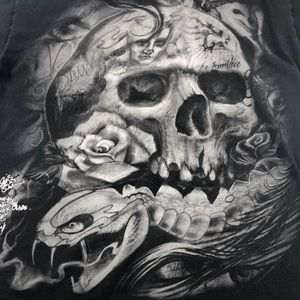 Bob Tyrell Sullen Collab T-Shirt Tattoo Artist Art